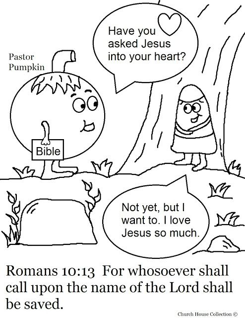 Church House Collection Blog Pumpkin Coloring Pages For Sunday School Romans 10 13 Fall Pumpkin Coloring Pages Fall Coloring Pages Halloween Coloring Pages
