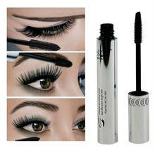 New Arrival Brand New Black Eye Mascara Long Eyelash Silicone Brush Curving Lengthening Mascara Waterproof Makeup(China (Mainland))