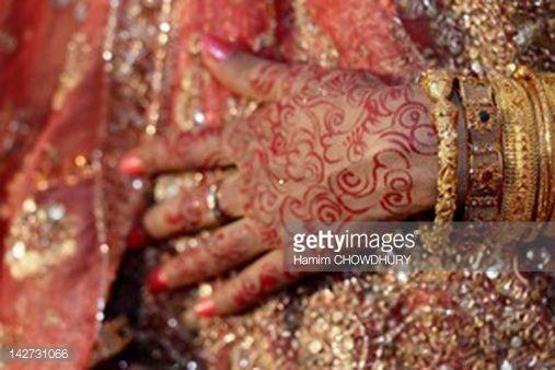 Foto de stock : Bagladeshi Bride -3