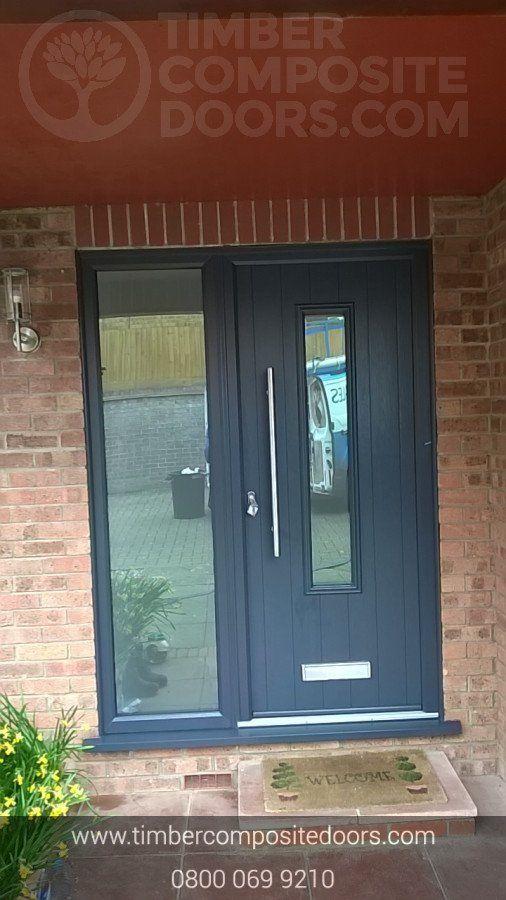Solidor Amalfi Timber Composite Contemporary Door In 2020 Composite Door Contemporary Doors House Front