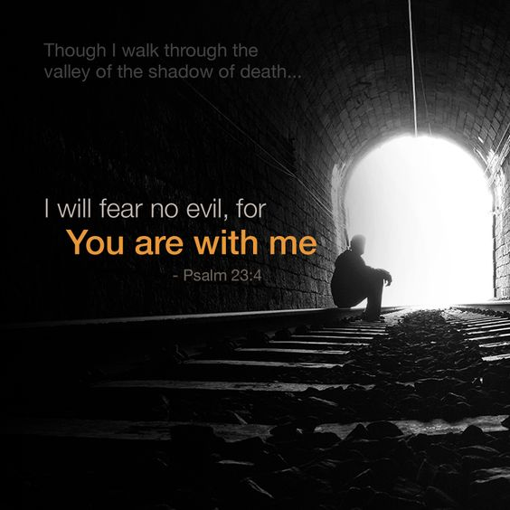I am the LORD your God, who holds your right hand, and I tell you, 'Don't be afraid. I will help you.'   ~Isaiah 41:13