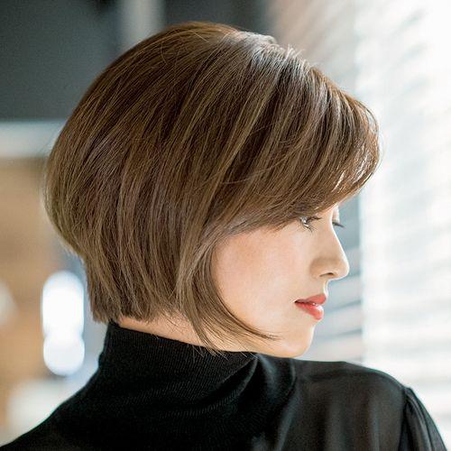 レジェンドヘア 野沢道生さんのリフトアップボブ 美st Online 美しい40代 50代のための美容情報サイト ヘアカット 薄毛 50 代 髪型 ボブ