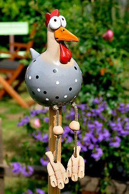 Keramik Garten Innen Wetterfest Vogel Huhn Gartenstecker Kantenhocker Hahn Ebay Topferarbeiten Gartenstecker Keramik