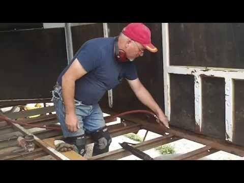 The Horse Trailer Guru Presents Preparing And Replacing Wood Trailer Floors Youtube In 2020 Livestock Trailers Horse Trailer Stock Trailer
