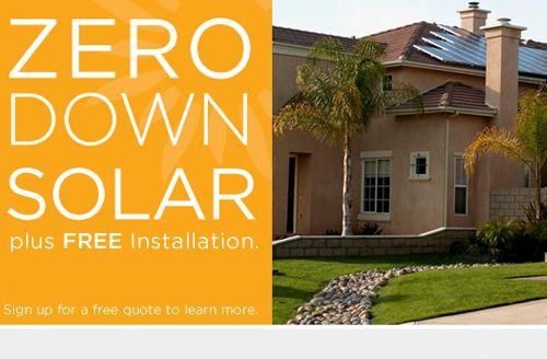 Gota get some solar on the house