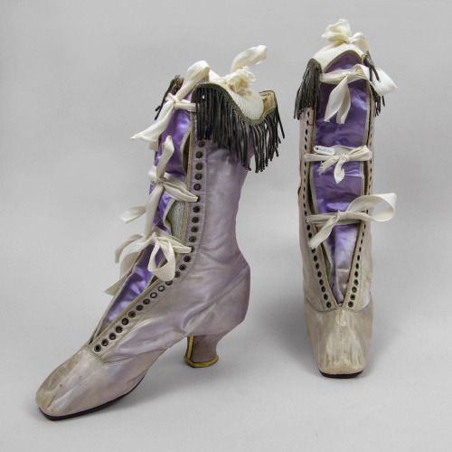 Theatrical boots, ca 1870, Oakland Museum of California