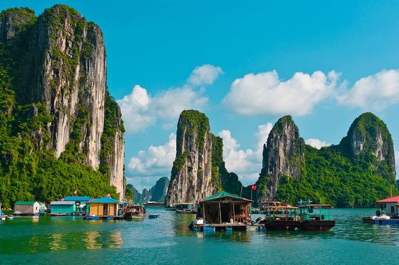 Vung Vieng is a #fishing #village located in the off the beaten track Bai Tu Long bay, not far from its world #famous sister #Halong Bay.