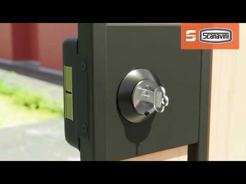 Cerradura De Sobreponer 2090 Scanavini Youtube Cerraduras Puertas De Metal Puertas Metalicas Exterior