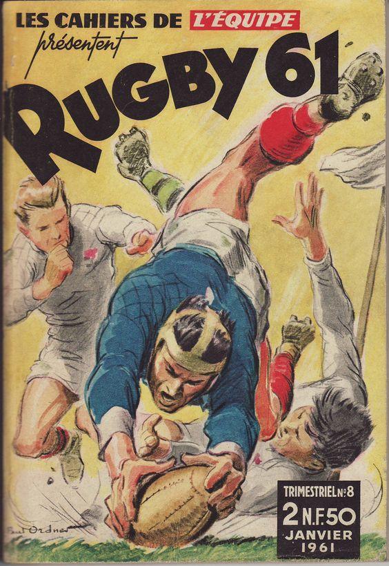 Cahiers de l'Equipe Rugby 1961   par Frederic Humbert (www.rugby-pioneers.com)