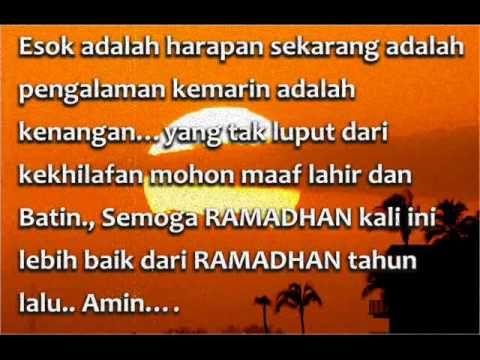 Video Ucapan Maaf Sebelum Ramadhan Youtube Kartu