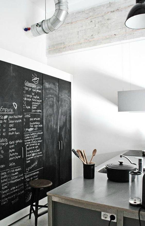 keuken-muur-krijtbord