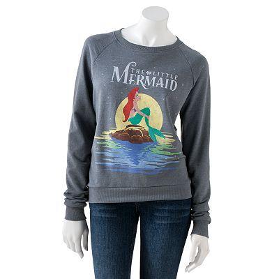 Disney Little Mermaid Sweatshirt - Juniors $17.99