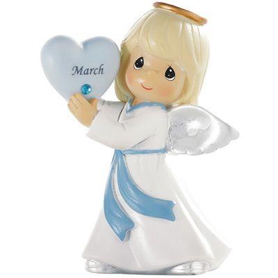 MARCH Precious Moments Angel My Birthday Angel