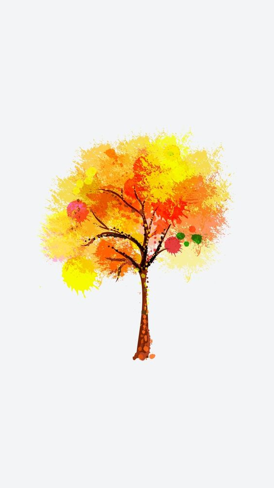 Dark Orange Tree. Tap to see the best iPhone wallpapers of