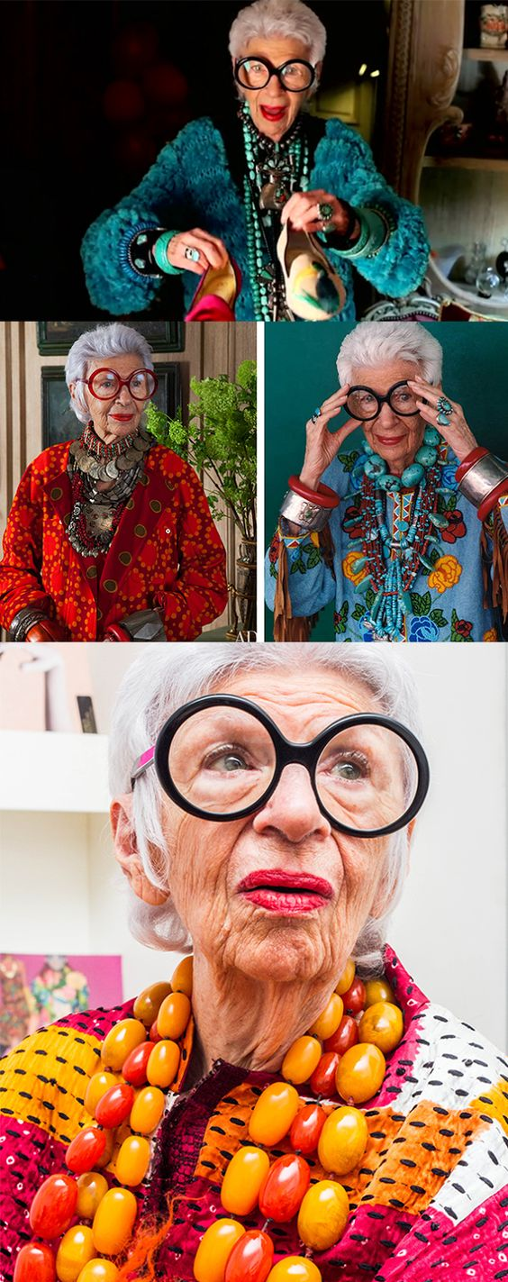 Style & Design Icon: Iris Apfel…  iris apfel is having a garage sale AND WE ARE INVITED!
