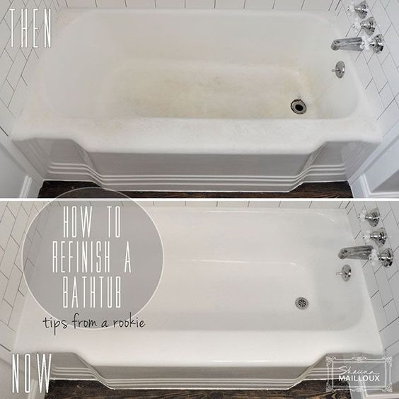 How to Refinish a Bathtub | Bathtubs, Nice and House