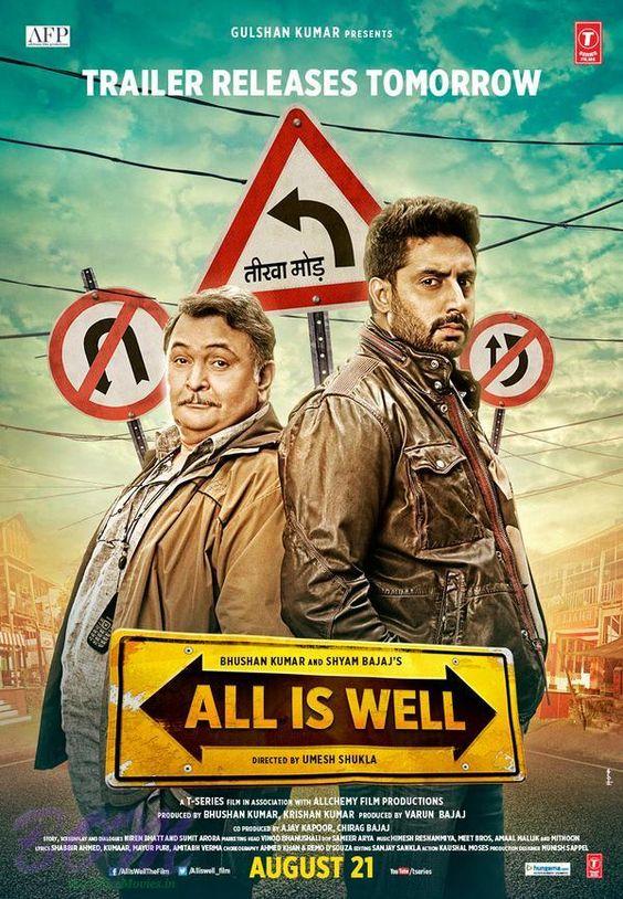All Is Well (2015) 480p 720p DVDRip Single Audio Hindi MKV