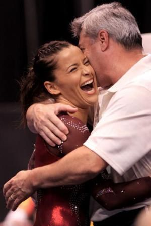 10 Awesome Celebration Shots...and the Stories Behind Them: Alicia Sacramone: 2010 US Nationals