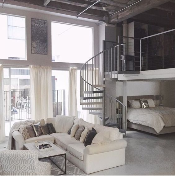 Carly Cristman... I'll take your lovely dream loft anyday!: