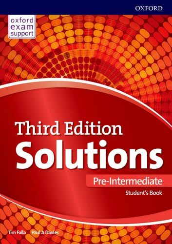 Solutions 3rd Edition Pre Intermediate Student S Book Oxford University Press Teacher Books Books English Books Pdf
