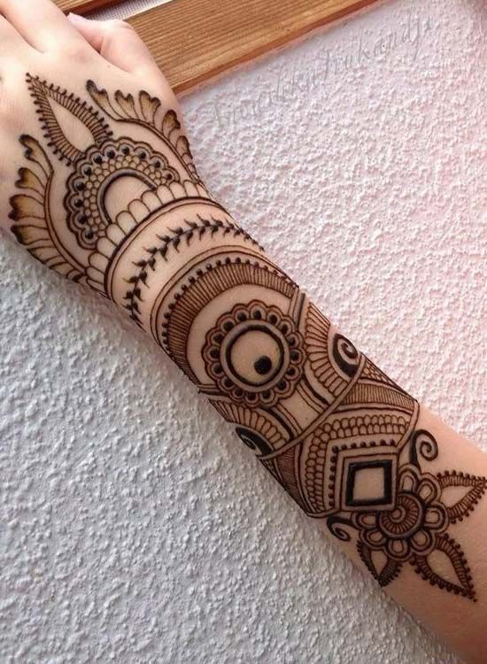 Very Simple And Charming Easy Henna Design 2019 Mehndi Designs