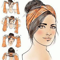 Turban how-to for Latina Magazine #latina #magazine #turban