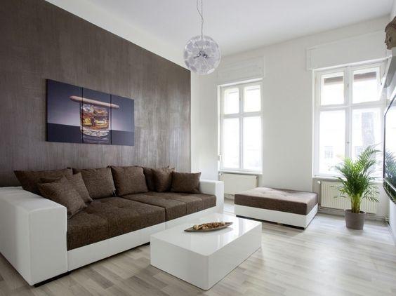wohnzimmer wandgestaltung modern:wohnzimmer idee modern wohnzimmer ...