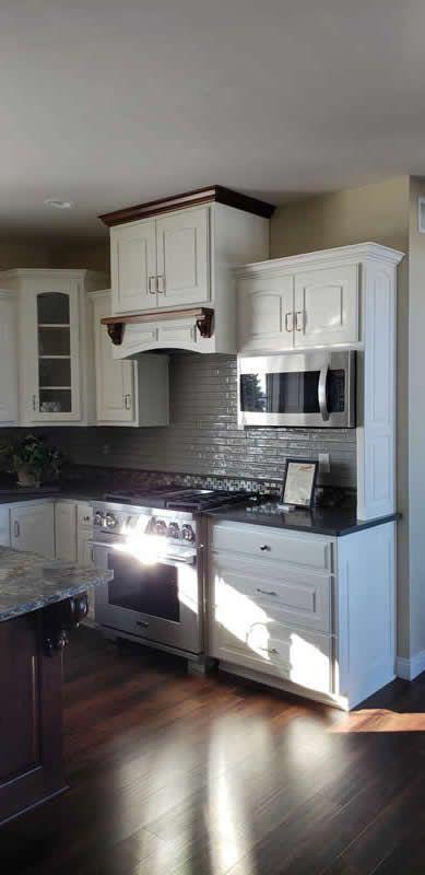 Beautiful Kitchen Cabinet Paint Colors That Aren T White Welsh Design Studio In 2020 Kitchen Design Color Kitchen Tiles Design Beautiful Kitchen Cabinets