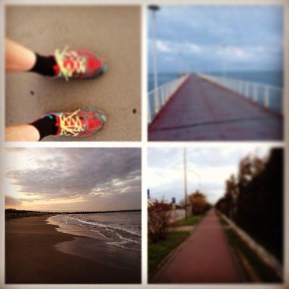 Marina di Massa #marinadimassa #mare, #running, #spiaggia, #beach, #corsa, #lungomare,