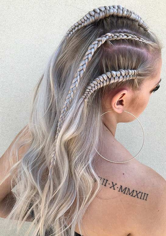 41 Cute Braided Hairstyles For Summer 2019 Stayglam Hair Styles Cool Braid Hairstyles Braided Hairdo