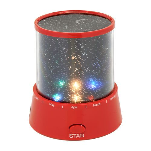 Mini Star Nightlight in color .