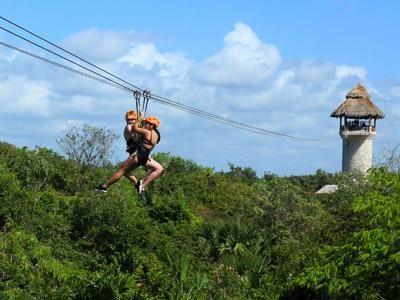 Best Zip Lining In Mayan Riviera