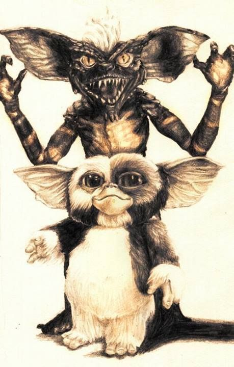Cute and cuddly to evil! Don't feed them after midnight!