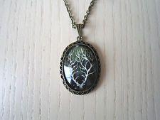deer necklace,secret deer,black deer