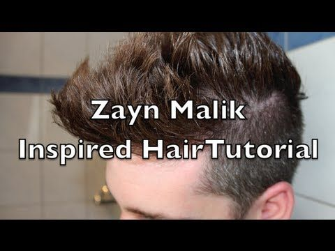 Zayn Malik Hair Tutorial / ONE DIRECTION | CORTES DE ...