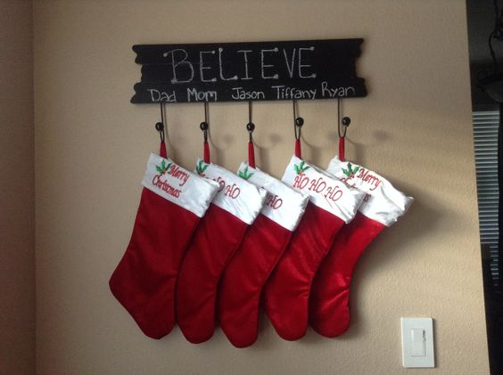Stocking Holder Hobby Lobby Believe Christmas