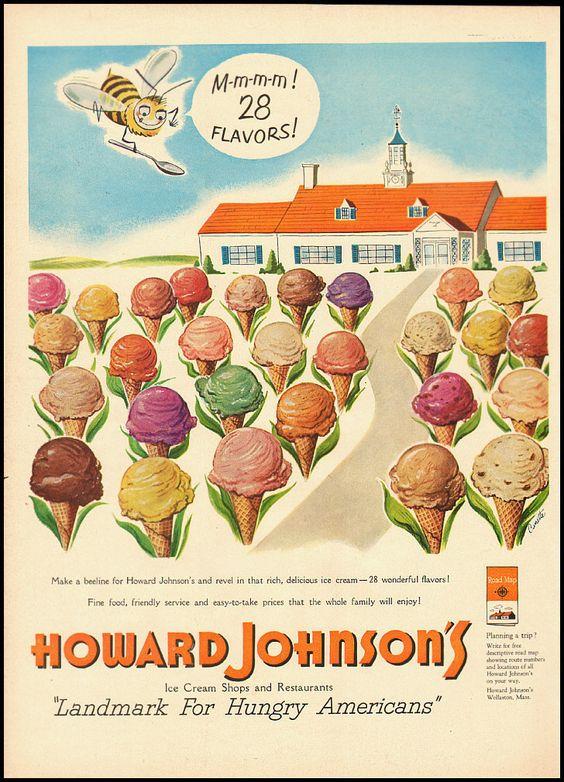 1951 Vintage ad for Howard Johnson's Motel (063012) | eBay