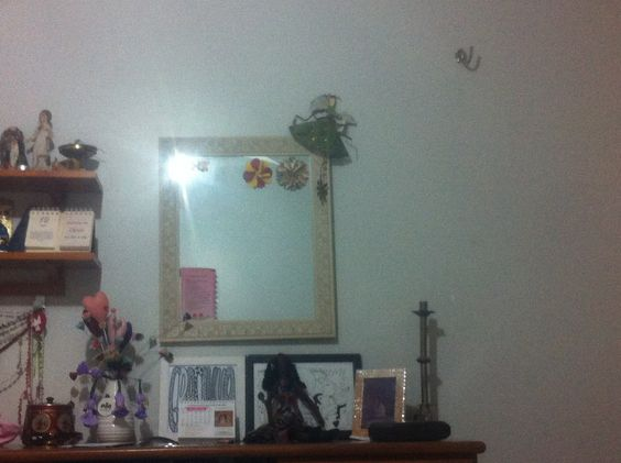 Um espelho muito divoso!