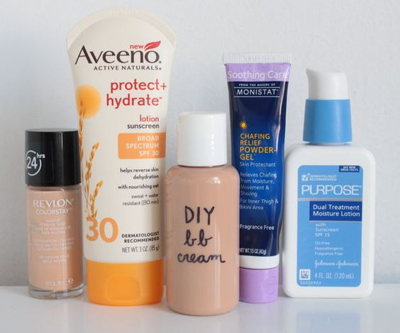 Instructions how to make your own BB cream.... The recipe calls for foundation and lotion and sunscreen. however, i'm interested to try making it with my own homemade lotion, foundation, etc