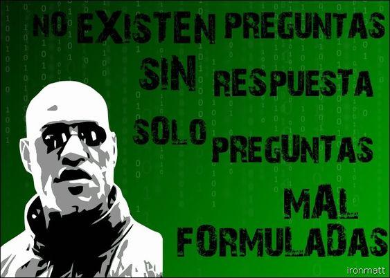 Resultado de imagen de frases de Matrix