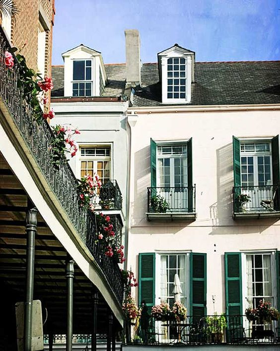 French Quarter Photograph New Orleans Art by Briole