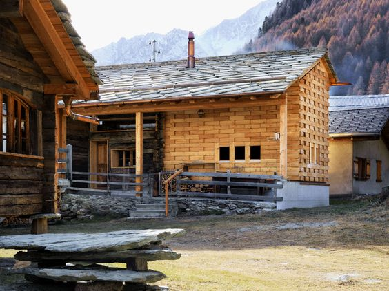 Galletti and Matter has superbly transformed a former barn with stables into a gorgeous residence in Switzerland that is primarily made of wood. According to the designers, the use of local materi...