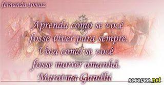 Sabedoria Dos Mestres...: Gandhi