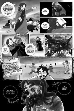 As a special Easter treat, I'm going to give you the comic that I wrote a few years back for the Slave Labor Graphics anthology, Fat Chunk Volume 2: Zombie! I wrote a few shorts for it but this was my favorite little silly one. Art by the amazing Jenny Romanchuk (The Zombie Hunters). Enjoy and watch out for those lepers! (Page 3)