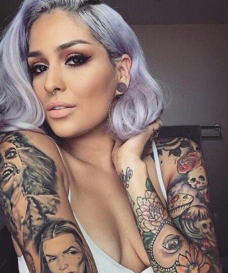 Lora arellano of melt cosmetics   Tattoos   Pinterest