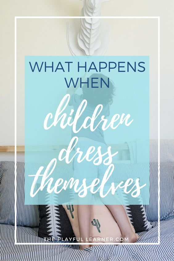 Getting dressed is a challenge for little ones. They'll look a little silly doing it, but it's a great way to playfully learn several important skills.