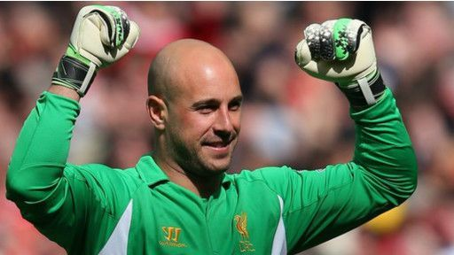 Pepe Reina Will be on Loan to Napoli