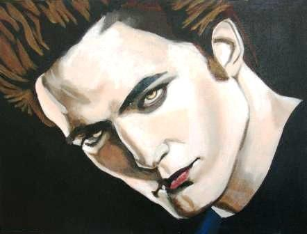 Twilight  -Edward Painting by my talented friend, South African artist, Jacqui Simpson www.thepaintingcave.com