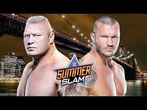 WWE Summerslam 2016 - Randy Orton vs Brock Lesnar - Promo - YouTube