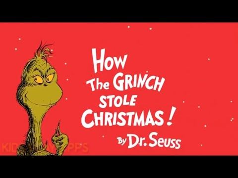 Grinch Dr Seuss How The Grinch Stole Christmas Youtube Grinch Stole Christmas Seuss Grinch